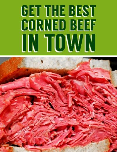 Monthly Special, Corned Beef
